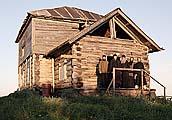 Братия обители на крыльце часовни в день отдания праздника Преображения Господня 26 августа 2007 г.