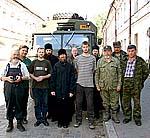 Участники экспедиции перед отъездом из Архангельска