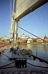 Яхта «Норд-Вест» в бухте Благополучия. 2000 г.