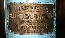 Клеймо изготовителя маяка. Париж. Конец XIX в.