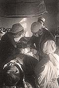 В.Ф.Казаков во время операции. Гремиха. 1943 г.