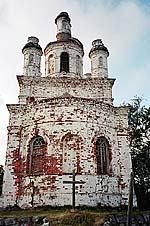 Храм Распятия Господня на горе Голгофе. 2000 г.
