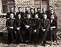 Офицеры Соловецкого госпиталя Учебного отряда СФ. Соловки. 1946 г.