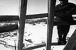 Прокопий Яковлевич на Прядильной башне. Фото 1960-х гг.