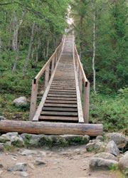 Лестница на Секирной горе. Фото С.Кресто
