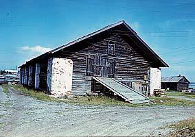 Амбар для хранения гребных судов до реставрации