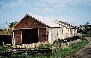 Амбар для хранения гребных судов во время реставрации