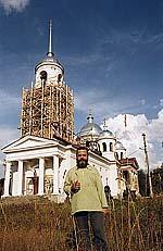Настоятель храма Рождества Христова иеромонах Антоний