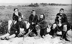 Калики перехожие. Фото К.Буллы 1900-х гг.
