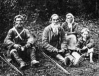 Странники. Фото К.Буллы 1900-х гг.