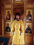 На литургии в антарктическом храме