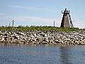 Илл. 3. Центральная часть острова с крестами 2,3,4 и маяком