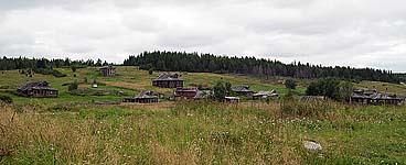 Село Кереть. Фото 2004 г.