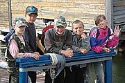 Соловецкие школьники. Фото 2005 г.