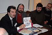 Д.Лебедев рассказывает об издательской деятельности ТСМ