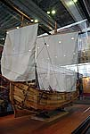 Макет соловецкой лодьи «Преподобный Зосима» (1790 г.)