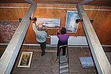 Подготовка выставки «Постижение Соловков»