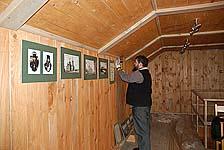 Подготовка выставки «Забытый остров»