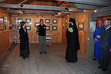 На открытии выставки «Постижение Соловков»