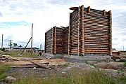 Строящийся храм во имя прп. Елисея Сумского