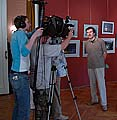 Интервью каналу «Культура» дает автор идеи фильма Дмитрий Лебедев