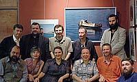 Съемочная группа фильма и участники фотовыставки