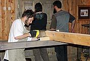 Яхта в процессе строительства. 2006 г.