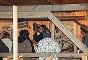Первую экскурсию ведет куратор музея Павел Филин
