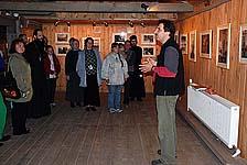 Член ТСМ Дмитрий Лебедев рассказывает об итогах деятельности Товарищества 2008 года