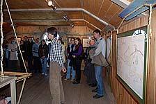 Первую экскурсию по выставке ведет автор Павел Филин