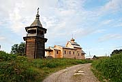 Никольская церковь и колокольня 1705 г.