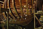 Строящаяся яхта «Святой Петр»