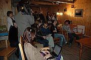 Представители СМИ на пресс-конференции