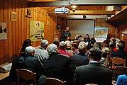 Открытие заседания конференции в Соловецком морском музее 25 сентября 2009 г.
