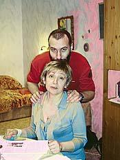 Слава и Оля весной 2009 г.