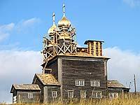 Никольская церковь (1636 г.) д. Ворзогоры Архангельской обл. (ведутся реставрационные работы)