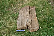 Фрагмент шитого борта