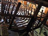 Яхта в процессе строительства. 2003 г.