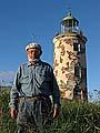 Капитан Виктор Щербак и Жижгинский маяк (две крепости)