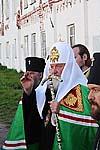 Святейший Патриарх в Соловецкой обители. 20 августа 2009 г.