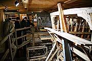 Знакомство с соловецкой верфью. Январь 2010 г. Фото М.Моисеева