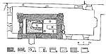 Илл. 8. Раскоп-1. Реконструкция планировки гробницы и часовен