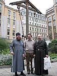 Наместник Соловецкого монастыря архимандрит Иосиф на подворье в Москве. Август 2009 г.