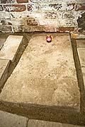 Место погребения прп. Иринарха