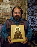 После освящения иконы прп. Иринарха