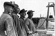 Каналоармейцы. 1930-е.