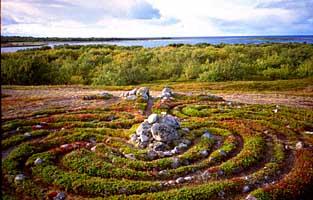Лабиринт на Б. Заяцком острове