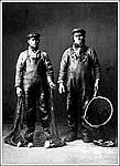 Рыбаки-поморы. Фото Я.И.Лейцингера нач. ХХ в. Из архива В.А.Никитина