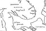 Корнелиус Дутс «Гидрографическая карта, содержащая описание навигации как по Балтийскому морю, так и по Северному океану», 1589 г.