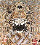 Свт. Филипп Митрополит. Покров надгробный. 1665 г. Московский Кремль